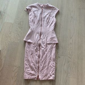 Ted Baker Nude pink dress